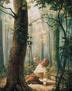 Joseph Smith in the Sacred Grove